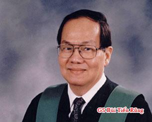 Giáo sư Bùi Tiến Rũng