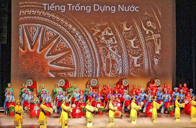 Vietnamese Lasallian Youth Troupe:  Tiếng Trống Dựng Nước . (Courtesy VLIT.org)