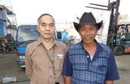 Học giả Đỗ Thông Minh và ông Phước còn gọi là anh Sáu. RFA