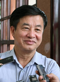 Bộ trưởng GTVT Hồ Nghĩa Dũng. Photo courtesy of dantri.com.vn