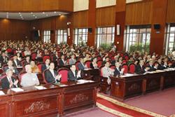 Các quan chức chính phủ có mặt trong kỳ họp Quốc Hội khóa XII. Photo courtesy of baomoi.com
