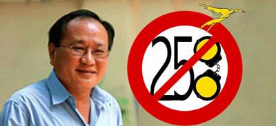 Giáo sư Hồng Lê Thọ bị bắt vì điều luật 258