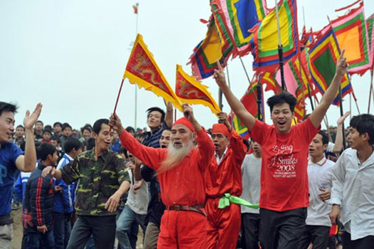 Khai mạc lễ hội cướp Phết Hiền Quan (Tam Nông, Phú Thọ)
