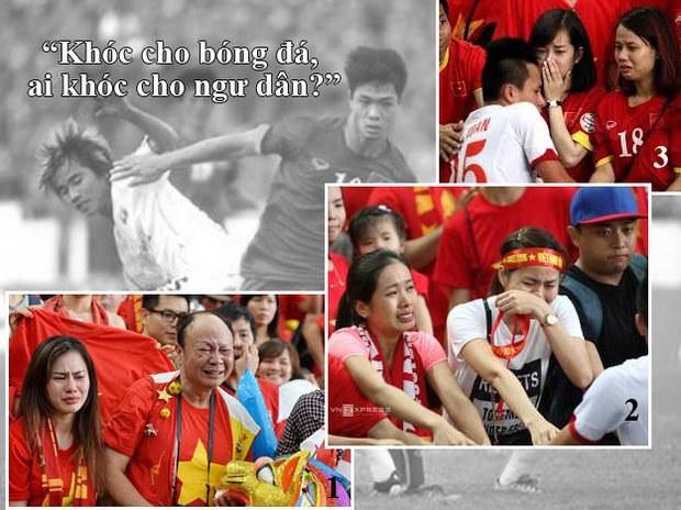 Khóc cho bóng đá, ai khóc cho ngư dân?