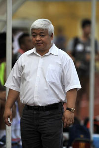 """Ông Nguyễn Đức Kiên, còn được biết dưới tên """"Bầu Kiên"""", ảnh chụp trước đây. AFP file photo."""