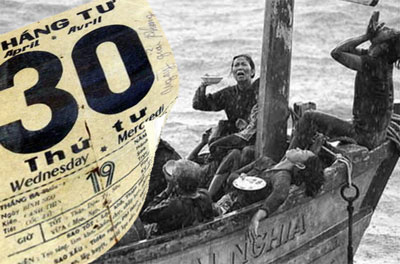 Thuyền nhân Việt Nam, một chương sử bi thương hơn 1/3 số người trốn chạy chế độ cộng sản đã thiệt mạng trên đường tìm tự do.