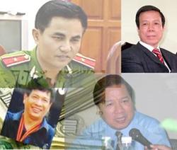 Các bị cáo trong vụ PMU 18.