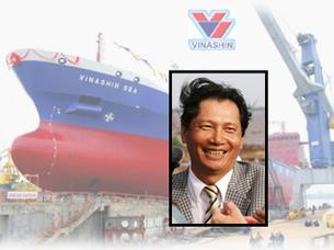 Ông Phạm Thanh Bình, Chủ tịch HĐQT Vinashin. RFA file