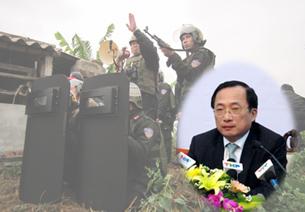 Vụ cưỡng chế đất ở Tiên Lãng - Bí Thư thành ủy Nguyễn Văn Thành. RFA file