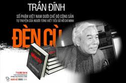 Bìa sách tư liệu mang tựa đề Đèn Cù của nhà văn, nhà báo Trần Đĩnh. RFA file