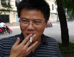 Giáo sư Ngô Bảo Châu tại Hà Nội hôm 04/9/2010. AFP photo