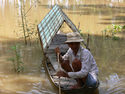 Một nông dân ĐBSCL. Photo courtesy of ktnt.