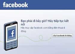 Trang Facebook tiếng Việt. Hình RFA chụp từ trang Facebook.