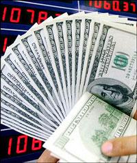 Đồng đôla Mỹ. AFP PHOTO.