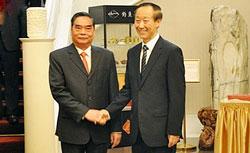 Ông Lê Hồng Anh gặp gỡ Trưởng Ban Liên lạc Đối ngoại Trung ương Trung Quốc Vương Gia Thụy trong chuyến thăm TQ hôm 26/8/2014