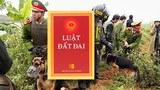 Lực lượng công an, quân sự đã được huy động rầm rộ vào một vụ cưỡng chế đất đai ở Tiên Lãng: Luật Đất Đai ? (ảnh minh hoạ)