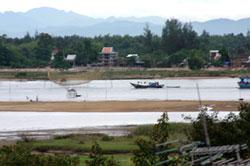 Đời sống dọc theo sông Mêkong trên địa phận Việt Nam. RFA photo.