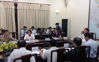 Một phiên họp của Hội đồng tiền lương quốc gia tại Hà Nội. Courtesy photo.