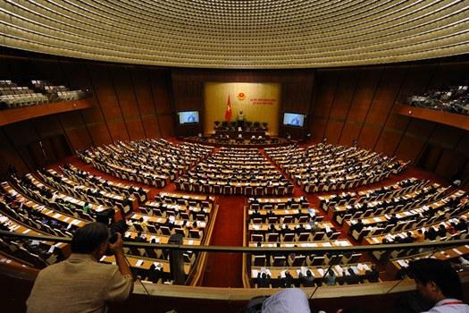 Một phiên họp của Quốc hội Việt Nam trước đây, ảnh minh họa.