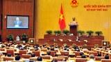 Thủ tướng Việt Nam Nguyễn Xuân Phúc trả lời chất vấn của Quốc hội ngày 17/11/2016.