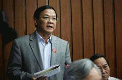 Ông Trần Văn Truyền, nguyên Tổng Thanh tra Chính phủ, trong một phiên họp khi còn đương chức. File photo.