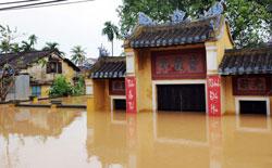 Lũ lụt ở Hội An, ảnh minh họa chụp trước đây. AFP PHOTO.