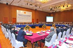 Toàn cảnh Diễn đàn Đối tác Phát triển VDPF 2013. World Bank Photo/Việt Tuấn.