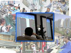 Hàng chục ngàn doanh nghiệp giải thể hay ngừng hoạt động riêng trong quí 1/ 2012. RFA/AFP photo.