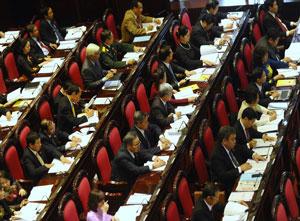 Kỳ họp thứ 6 Quốc hội Việt Nam khóa 13 hôm 21 tháng 10 năm 2013 tại Hà Nội.