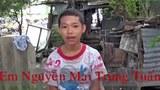 Em Nguyễn Mai Trung Tuấn 15 tuổi bị một tòa án huyện ở Long An hôm 24/11/2015 kết án sơ thẩm 4 năm 6 tháng tù- Người tù dân oan trẻ tuổi nhất Việt Nam