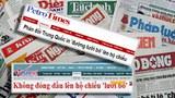 """Báo chí Việt Nam đã tận dụng thông tin nước ngoài đồng loạt  phản đối Trung Quốc in hình bản đồ """"đường lưỡi bò"""" lên hộ chiếu"""
