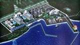 Mô hình nhà máy điện hạt nhân Ninh Thuận