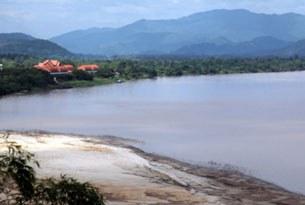 Dòng Mêkông trong địa phận Miến Điện.