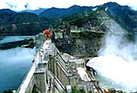 Đập thủy điện Manwan của Trung Quốc