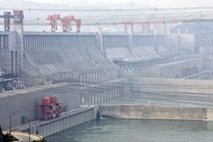 Đập Tam Hiệp ở thành phố Nghi Xương, tỉnh Hồ Bắc - Trung Quốc, ngày 28 tháng 5 năm 2011.