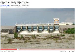 Nhà máy thủy điện Trị An được xây dựng trên sông Đồng Nai