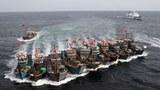 Một kiểu đánh cá càn quét của ngư dân Trung Quốc (minh họa)