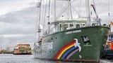 Tàu Rainbow Warrior của Greeenpeace sẽ hoạt động ở vùng biển Indonesia