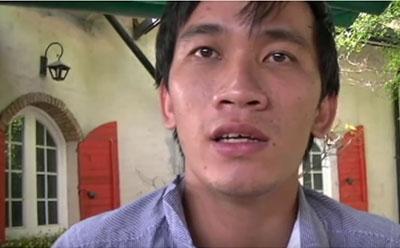 Bạn Nguyễn Phương, Sài Gòn, bị công an bắt giữ và đánh đập trong cuộc biểu tình vì môi trường ngày 1 tháng 6 năm 2016.