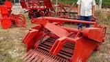 Ngoài máy trồng mì, ông Trần Quốc Hải còn sản xuất hàng loạt máy như máy nhổ củ mì, máy làm cỏ, máy bón phân..., cơ giới hóa gần như toàn bộ quy trình trồng mì.