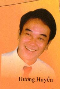 Nghệ sĩ Hương Huyền. Hình do soạn giả Nguyễn Phương cung cấp.