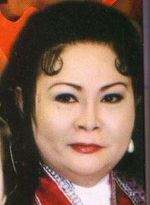 Nữ nghệ sĩ Xuân Yến.  Hình của soạn giả Nguyễn Phương/RFA.