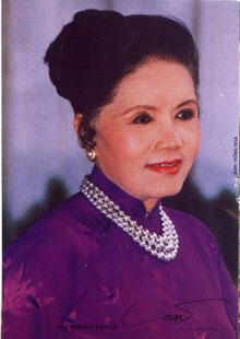 Nữ nghệ sĩ Út Bạch Lan . Hình do soạn giả Nguyễn Phương cung cấp.