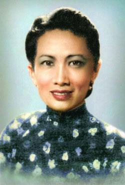 Nghệ sĩ Thanh Loan. Photo courtesy of Người Việt.