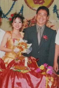 Cô Võ Thị Minh Phương trong ngày cưới. Photo courtesy of phunuonline