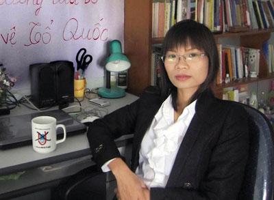 Cựu tù nhân chính trị Phạm Thanh Nghiên.
