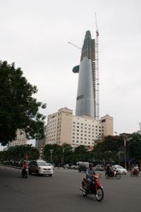 Tòa nhà Bitexco ở TPHCM. RFA photo