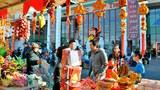 Người Việt Hải Ngoại tại Little Saigon đón Xuân với Chợ Hoa, Chợ Tết ở khu Phước Lộc thọ, California