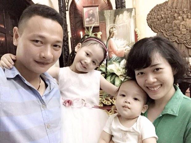 Gia đình nhà hoạt động Bạch Hồng Quyền.
