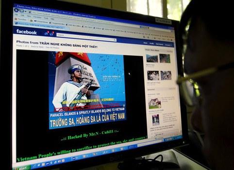 Chống Trung Quốc và xác nhận chủ quyền Hoàng Sa, Trường Sa của VN trên facebook